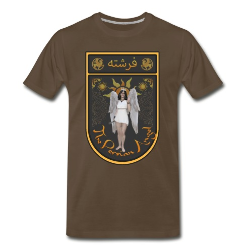 Persian Angel Anahita - Farsi Angel - Men's Premium T-Shirt