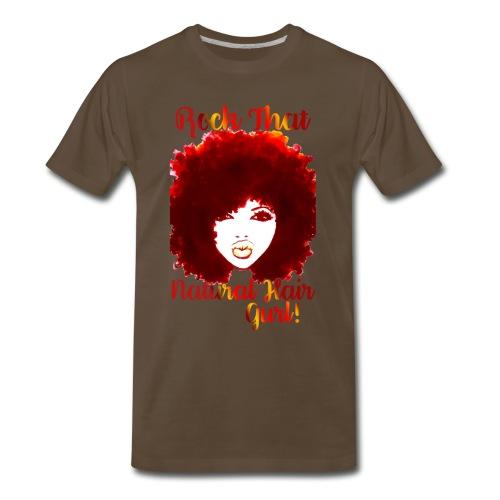 Rock That Natural Hair Gurl ! - Men's Premium T-Shirt