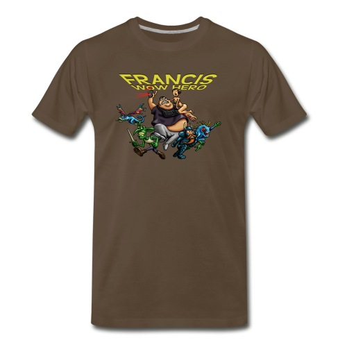 tshirt francis no background png - Men's Premium T-Shirt