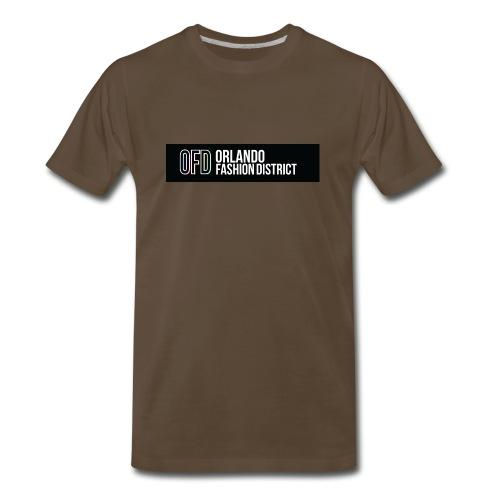 OFD Long Logo White Text - Men's Premium T-Shirt