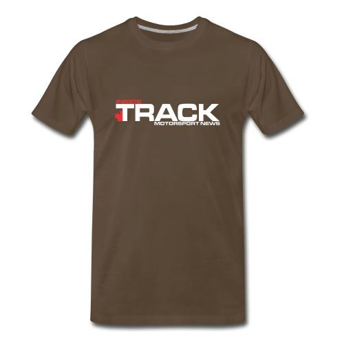 Inside Track White Logo - Men's Premium T-Shirt
