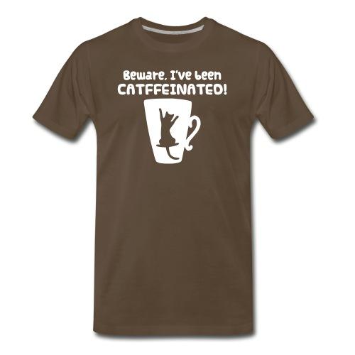 CATffeinated - Men's Premium T-Shirt