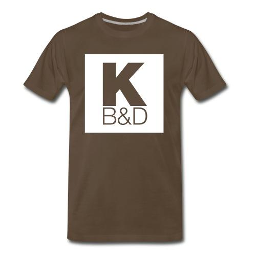 KBD_White - Men's Premium T-Shirt