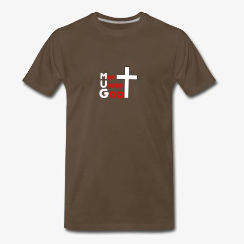 MUG Men Under God without coffee mug - Men's Premium T-Shirt