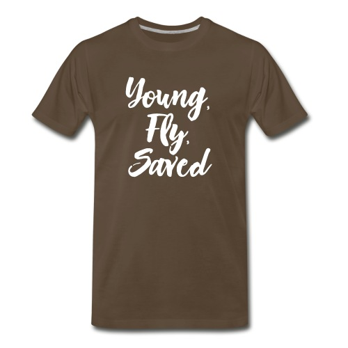 Young Fly Saved - Men's Premium T-Shirt