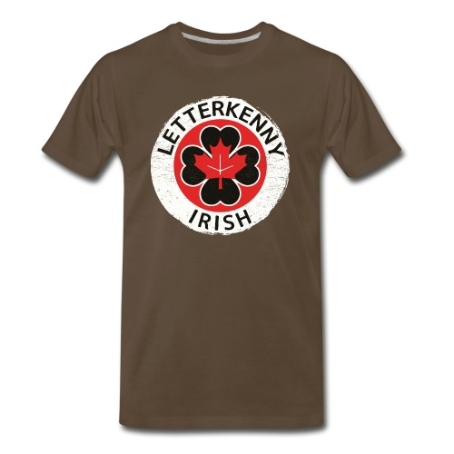 Shamrock Irish Letterkenny - Men's Premium T-Shirt
