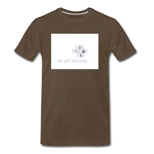 my life the sims - Men's Premium T-Shirt