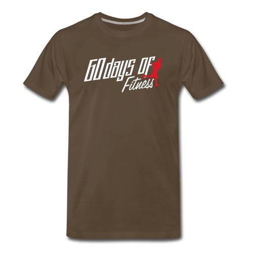 60 Days Of Fitness - Men's Premium T-Shirt