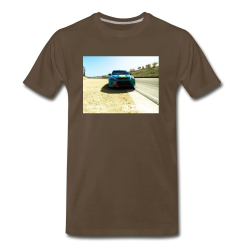 The car - Men's Premium T-Shirt