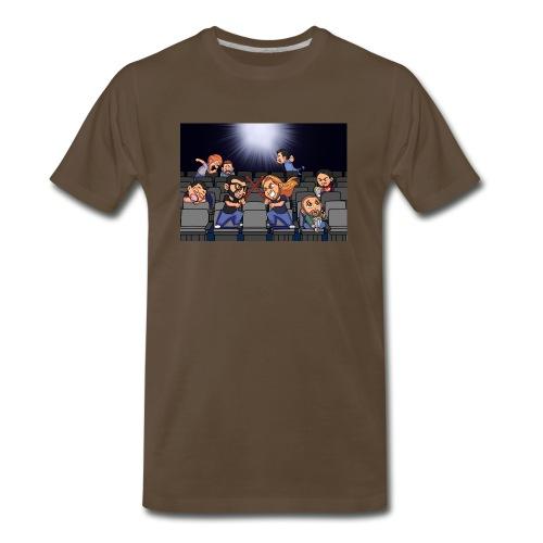 A Night at the Movies - Men's Premium T-Shirt