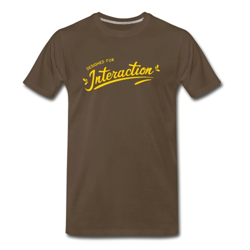 Designed for Interaction - Men's Premium T-Shirt