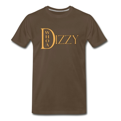wd dizzy logo gold 2006 - Men's Premium T-Shirt