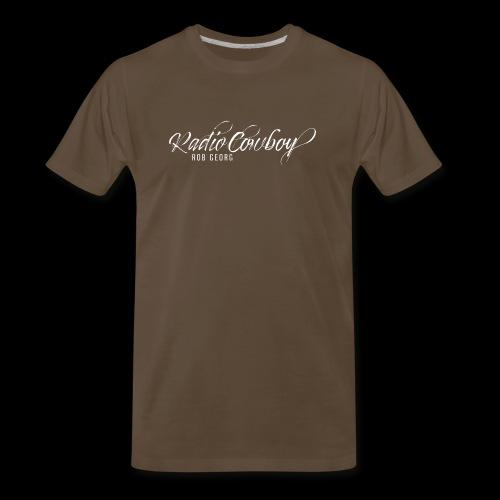 Radio Cowboy Merch - Front Design - Men's Premium T-Shirt
