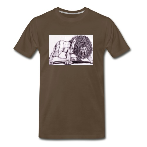 Lion Tee - Men's Premium T-Shirt
