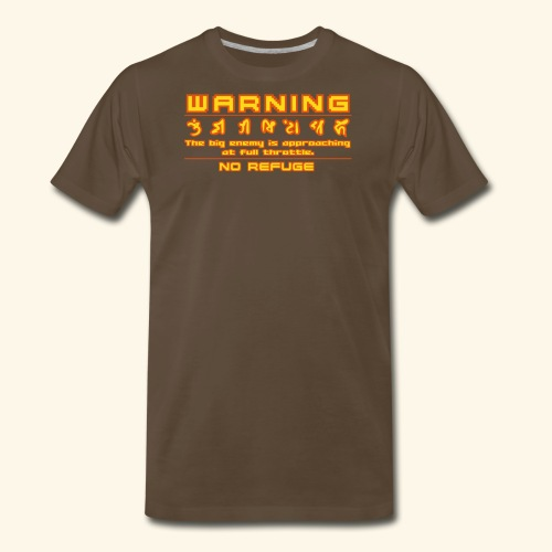 warning1 - Men's Premium T-Shirt