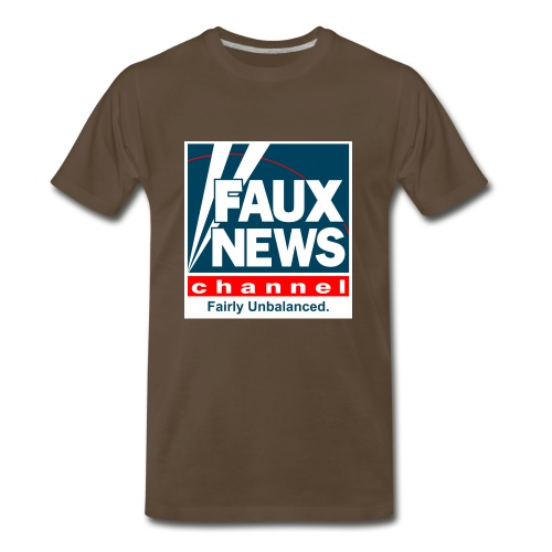 Faux News - Men's Premium T-Shirt