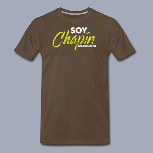 Soy Chapín Americano - green - Men's Premium T-Shirt
