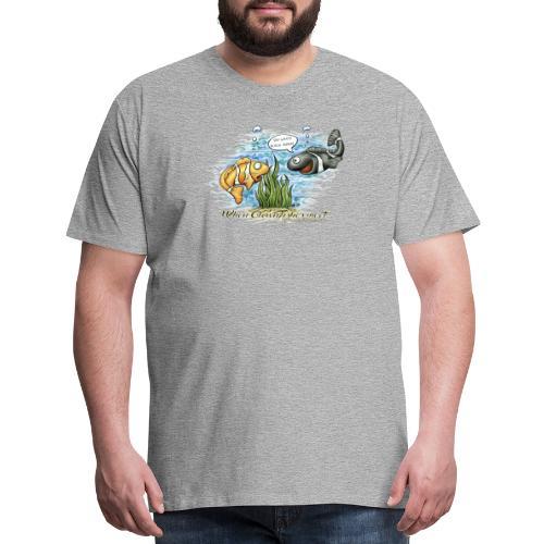 when clownfishes meet - Men's Premium T-Shirt