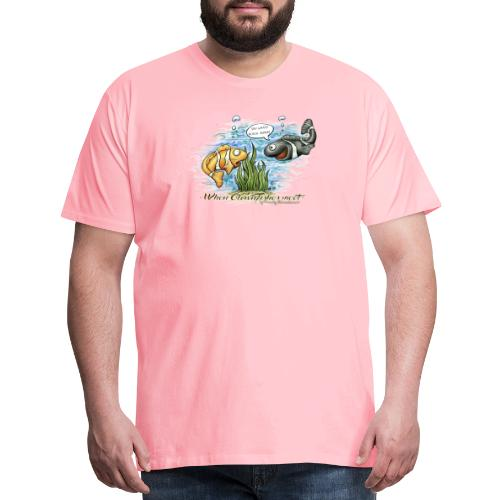 when clownfishes meet - Men's Premium T-Shirt