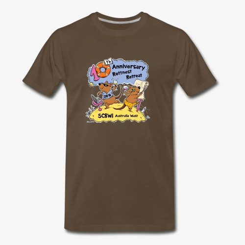 SCBWI 2018 (5) - Men's Premium T-Shirt