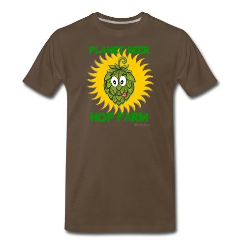 Planet Beer Hop Farm - Men's Premium T-Shirt