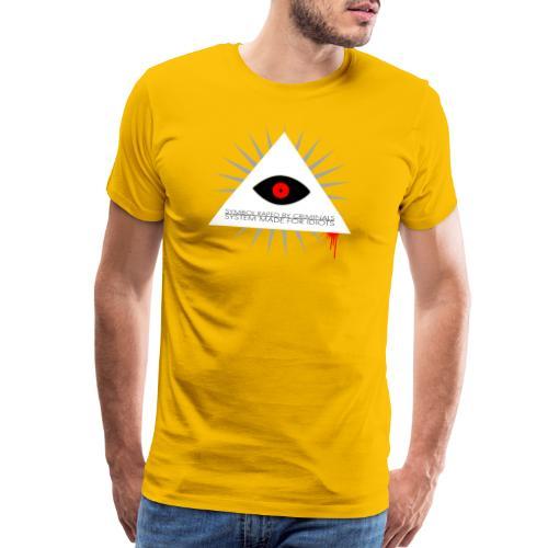 Symbol raped by criminals... System made for idiot - Men's Premium T-Shirt