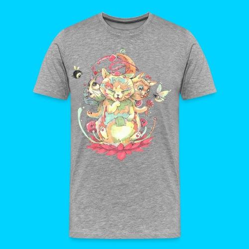 Contraption Brahma Neko - Men's Premium T-Shirt