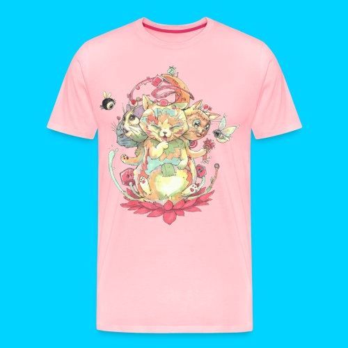 Contraption Brahma Neko - Men's Premium T-Shirt