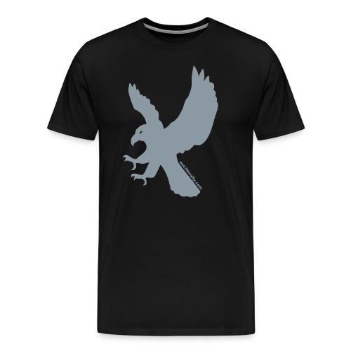 Not Literally Ravenclaw Logo Large - Men's Premium T-Shirt