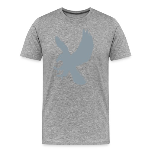 Not Literally Ravenclaw Logo Large - Men's Premium T-Shirt