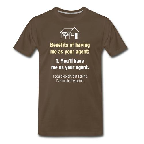 Me = Your Agent - Men's Premium T-Shirt