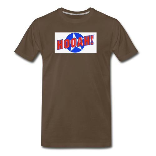 HOOAH FULL jpg - Men's Premium T-Shirt