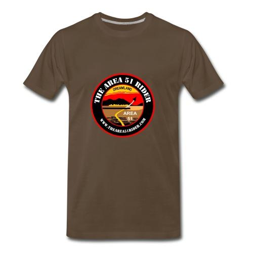 NEW Area 51 Rider Logo - Men's Premium T-Shirt