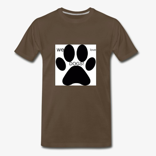 WE LOVE DOGS!!!!!!! - Men's Premium T-Shirt