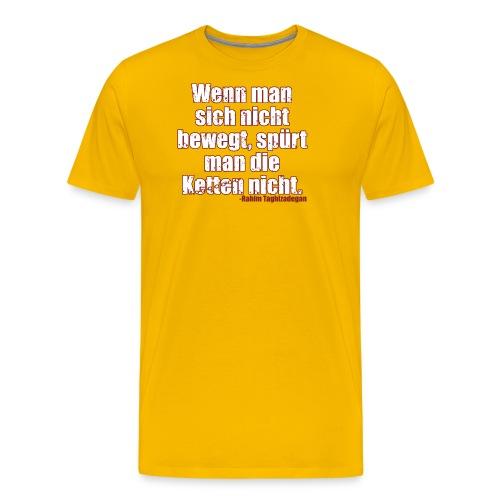Chains Libertarian Quote Rahim Taghizadegan - Men's Premium T-Shirt