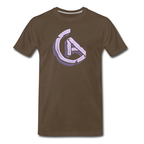 20anthony RockSolid Tee Back - Men's Premium T-Shirt