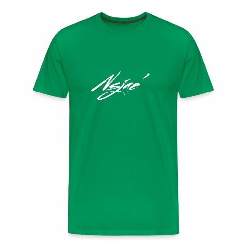 NSJAE White - Men's Premium T-Shirt