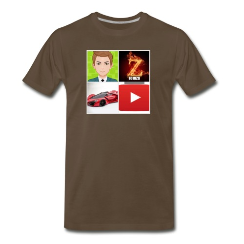 zemza logo 2018 - Men's Premium T-Shirt