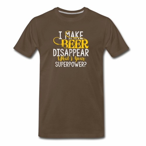 I make beer disappear - Men's Premium T-Shirt
