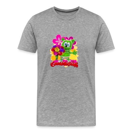 Gummibär Flowers - Men's Premium T-Shirt
