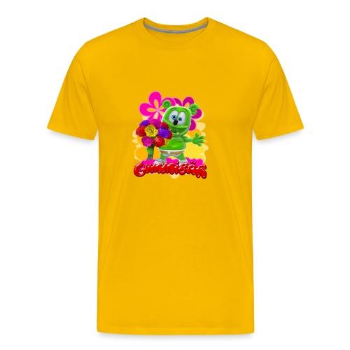 Gummibär Flowers - Men's Premium T-Shirt