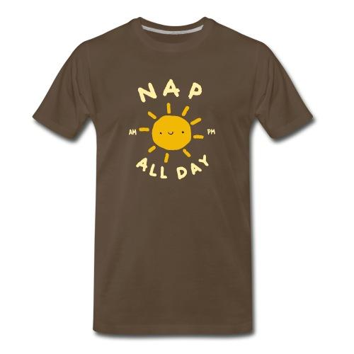 Nap All Day - AM - PM - Sleep O'clock - Men's Premium T-Shirt