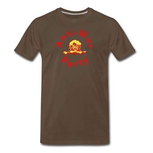 anti-war party - Men's Premium T-Shirt