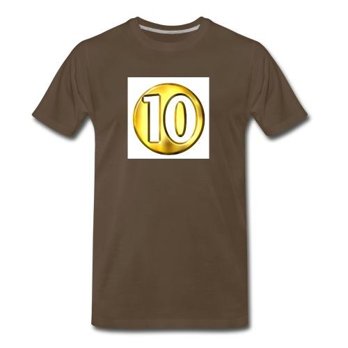 10 subscriber hodie - Men's Premium T-Shirt