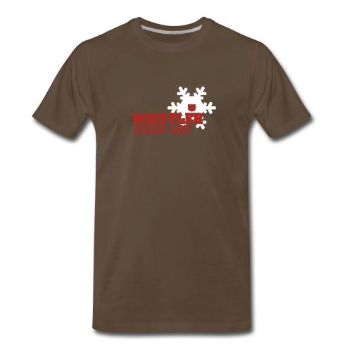 Whistler Kicks Ass - Men's Premium T-Shirt