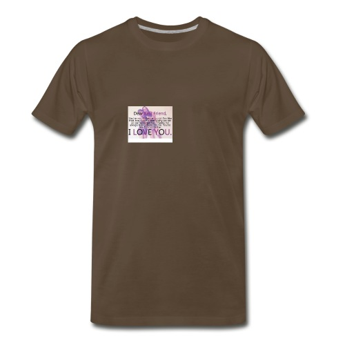 Cute best friends - Men's Premium T-Shirt