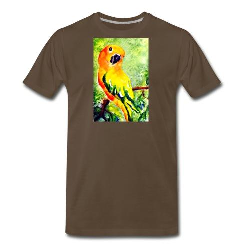 conure jpeg - Men's Premium T-Shirt