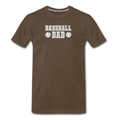 Baseball dad - Men's Premium T-Shirt