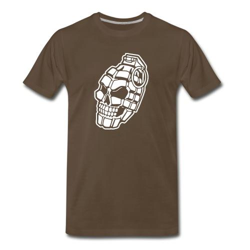 Skull Grenade - Men's Premium T-Shirt