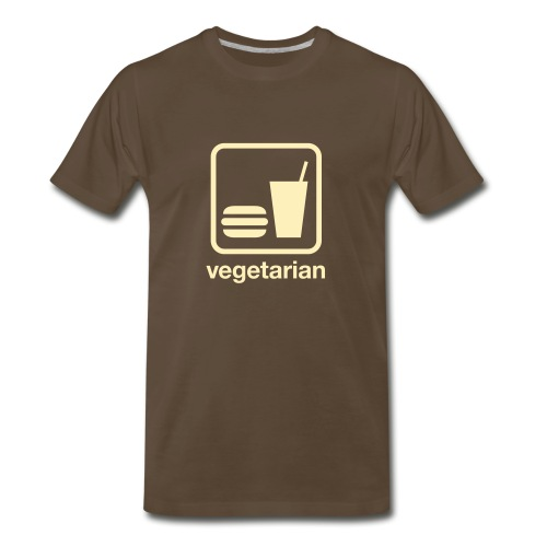 Vegetarian Food - Men's Premium T-Shirt